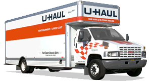 Uhaul truck & packing supplies available